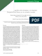 Epidemiología y genética del sobrepeso y la obesidad. Perspectiva de México en el contexto mundial