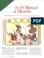 Justice on Behalf of Heaven