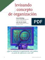MintzBerg concepto de organización