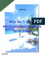Mga Iba't-ibang Magagandang Tanawin sa Plipinas.docx