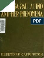 Hereward Carrington - Eusapia Palladino and Her Phenonena