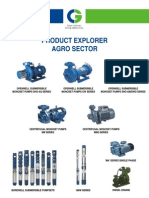 Crompton Greaves Agro Centrifugal Submersible Pumps Catalogues