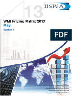Pricing Matrix May 2013- Edition2