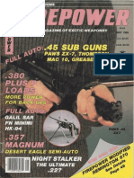 The Galil SAR by Lee Upchurch - Firepower Magazine May 1985
