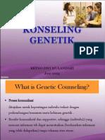 Konseling Genetik