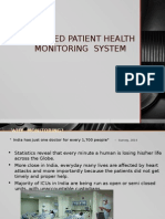 Gsm Based Patient Health Monitoring System