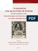 (Un)Masking the Realities of Power- Justus Lipsius and the Dynamics of Political Writing in Early Modern Europe