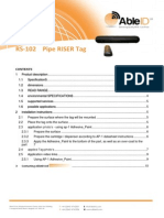 RS-102 PipeRiserTag Able ID