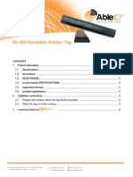 RS-200 BandableRubberTag Able ID