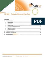 SC-300 TubularSiliconePipeTag Able ID