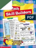 MegaFun Math Skill Builders - Gr 6 to 8.pdf