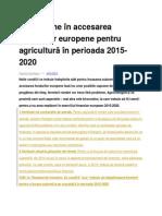 10 capcane în accesarea fondurilor europene pentru agricultură în perioada 2015.docx