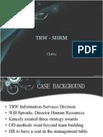 TRW - SHRM