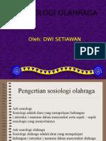 Sosiologi Olahraga Dwi