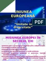 Uniunea Europeana Studiu Complex