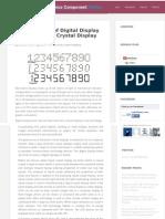 The Inception of Digital Display Board & Liquid Crystal Display