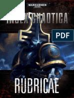 Index Chaotica - Rubricae Marin - Games Workshop L