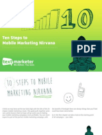Ten Steps to Mobile Marketing Nirvana
