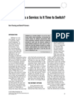 Platform aPlatform as a Service- Is It Time to Switchs a Service- Is It Time to Switch