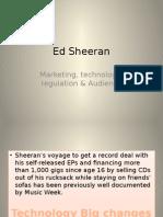Ed Sheeran Industry