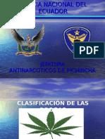 Clasificacion Drogas y Manejo