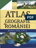 Manuela Popescu-Atlas de Geografie a Romaniei - Cls. a IV-A-Editura Aramis (2011)