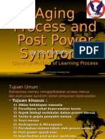 2. Aging Process & Power Syndrome