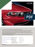 2010 Mustang Brochure