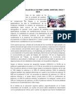 Estadisticas de Salud en La Cultura Ladina