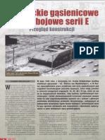 Niemieckie Gąsienicowe Wozy Bojowe Serii E - Artykuł MXXW