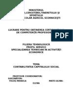 Atestat Capital Soc