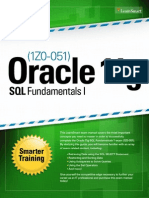 1Z0051 Oracle 11g SQL Fundamentals I
