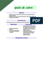 Chapado de Cobre, Cobreado, Galvanoplastia