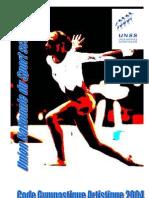 De Gym 82 … Au Code Gymnastique