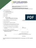 LIC Superannuation Claim Form