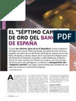 """El """"séptimo camión"""" de oro del Banco de España"""