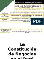 Capitulo XIV Las Empresas en El Peru I