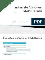 Subastas de Valores Mobiliarios