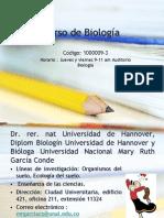 Clase 1 Introducción Al Estudio de La Biología Sem I 2015