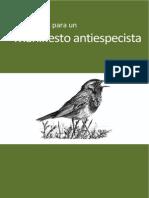 Manifiesto Antiespesista Rev 13 2014