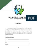 Friendship Cube Group Workbook