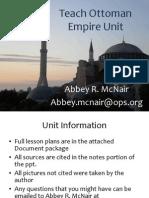 Teach the Ottoman Empire(1)