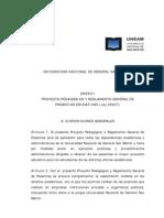 Reglamento general de Pasantías - UNSAM