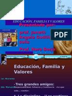 Educación, Familia y Valores