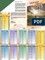 Lecturas Biblicas 2015