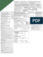 Finance Final Formula Sheet