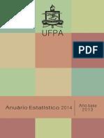 Anuario Estatistico 2014-2013 Ufpa