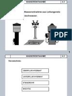 Armaturen für Wasserentnahme