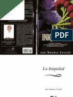 Ana Mendez - La Iniquidad