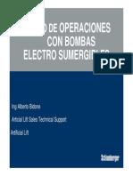 Bombas Electrosumergibles - Switchboards y Transformadores
